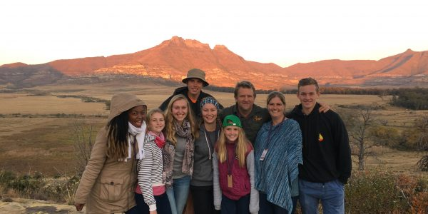 Group of Gap Year Course Ablaze Students on an adventure