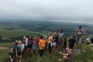 Young Adults Camp in Eston KawZulu Natal having fun at Camp El Olam